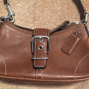 Coach - Small Brown Leather Purse